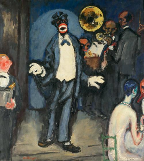 Kees van Dongen, Nightclub: the Singer Johnny Hudgins, c. 1927.