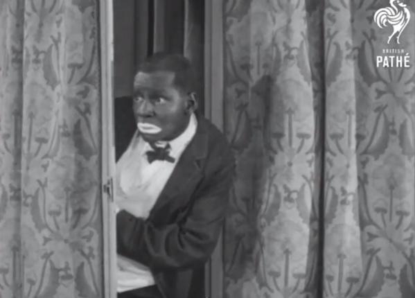 """Une image de Johnny Hudgins dans le court-métrage """"Feet - Fun - And Fancy"""" (1927)"""
