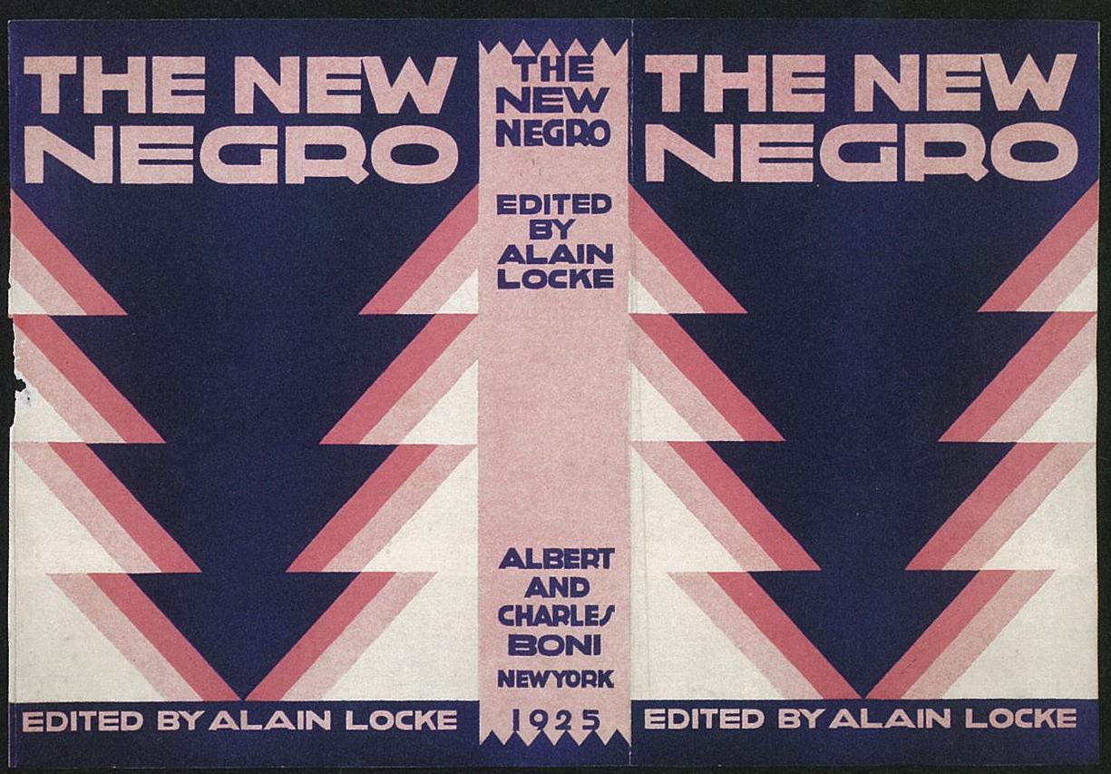 La couverture de l'anthologie d'Alain Locke considérée comme l'ouvrage de référence du mouvement de la Harlem Renaissance.