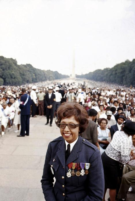 Josephine Baker à la Marche sur Washington le 28 août 1963