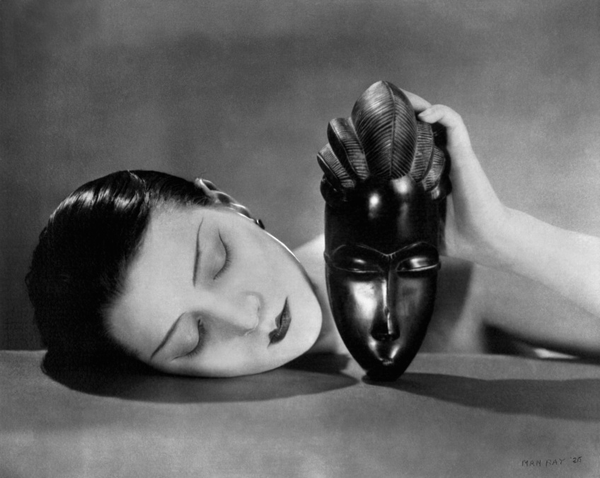 """Man Ray """"Noire et Blanche"""" 1926"""