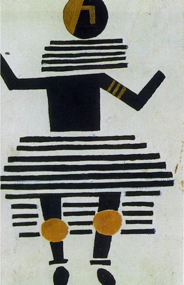 """Fernand Léger, projet de costume pour le ballet """"La Création du Monde"""" de Darius Milhaud (1923)"""